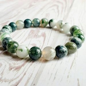 🖤3/$30🖤 Tree Agate Stone Bracelet